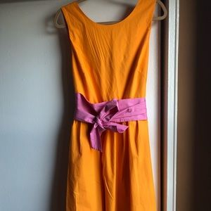 Cotton poplin dress, never worn
